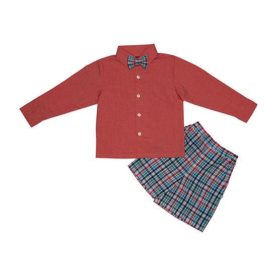 Hudson Ferrell Boys 3-pc. Suit Set Baby