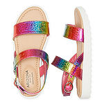 Arizona Big Kids Girls Aquatic Strap Sandals