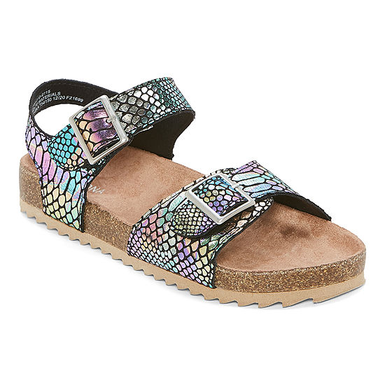 Arizona Little Kid/Big Kid Girls Nora Strap Sandals
