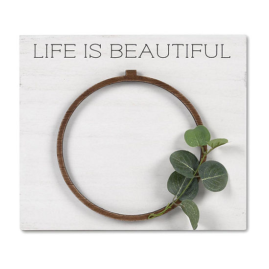 Life is Beautiful 4x6 Tabletop Frame