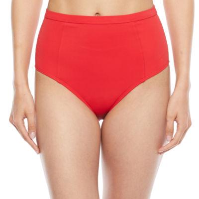 Peyton & Parker Womens High Waist Bikini Swimsuit Bottom