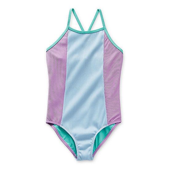 Arizona Little & Big Girls One Piece Swimsuit