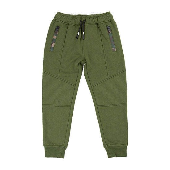 Retreat Los Angeles Little & Big Boys Mid Rise Cuffed Jogger Pant
