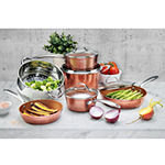 Gotham Steel 10-pc. Copper Dishwasher Safe Non-Stick Cookware Set