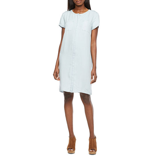Liz Claiborne Short Sleeve T-Shirt Dress