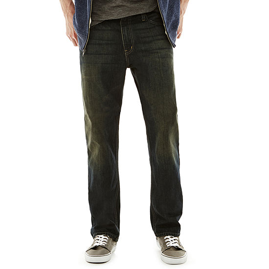 Arizona Men's Relaxed Straight Jeans