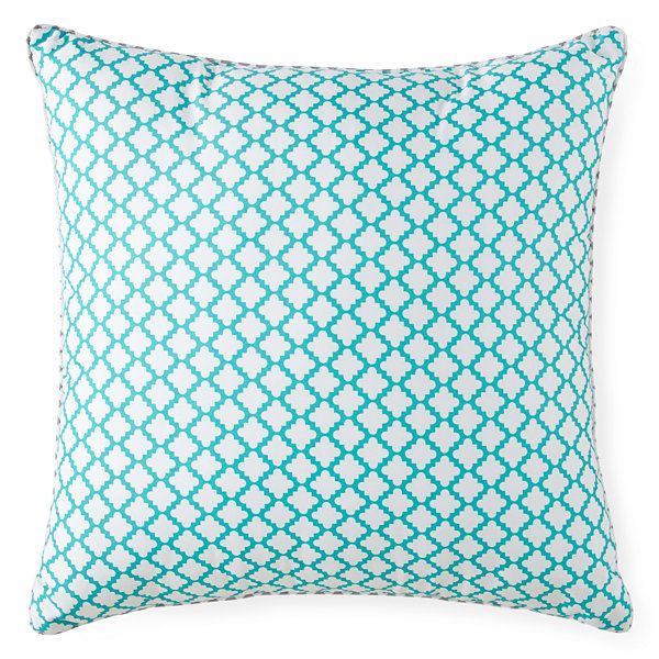 Home Expressions Tiles Square Decorative Pillow