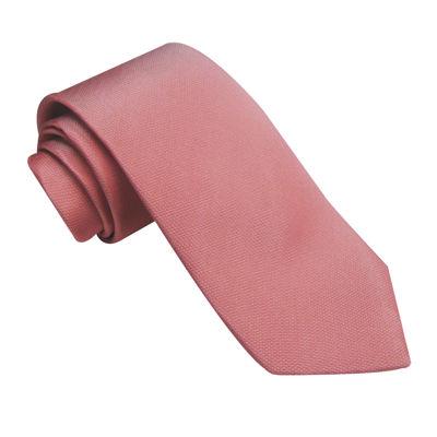 Stafford® Soft Solid Slim Silk Tie