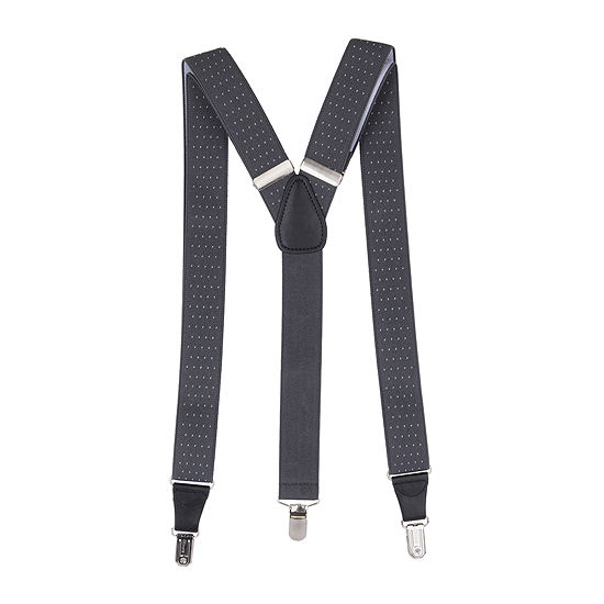 Collection by Michael Strahan Pindot Stretch Suspenders