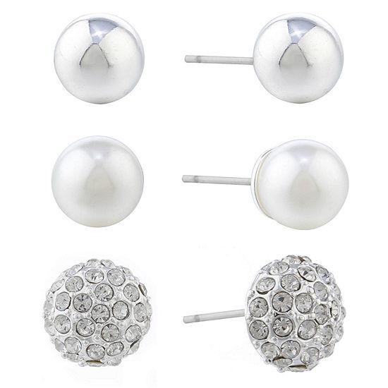 Gloria Vanderbilt 10.1mm Stud Earrings