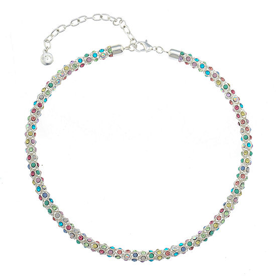 Gloria Vanderbilt Blue 16 Inch Collar Necklace