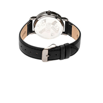Crayo Pride Unisex Black Strap Watch-Cracr3806