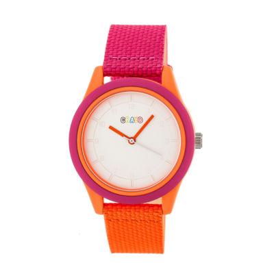 Crayo Pleasant Unisex Multicolor Strap Watch-Cracr3902