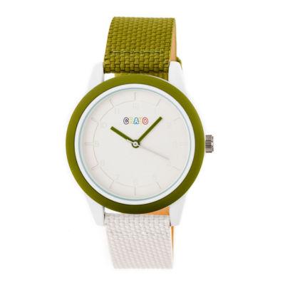 Crayo Pleasant Unisex Multicolor Strap Watch-Cracr3904