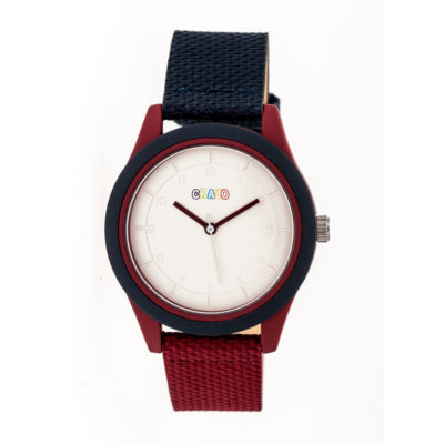 Crayo Pleasant Unisex Multicolor Strap Watch-Cracr3906
