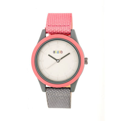 Crayo Pleasant Unisex Multicolor Strap Watch-Cracr3907