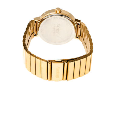 Simplify The 4600 Unisex Gold Tone Bracelet Watch-Sim4603