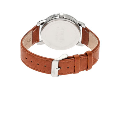 Simplify The 4700 Unisex Brown Strap Watch-Sim4704