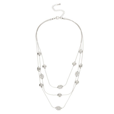 Bold Elements Womens Illusion Necklace