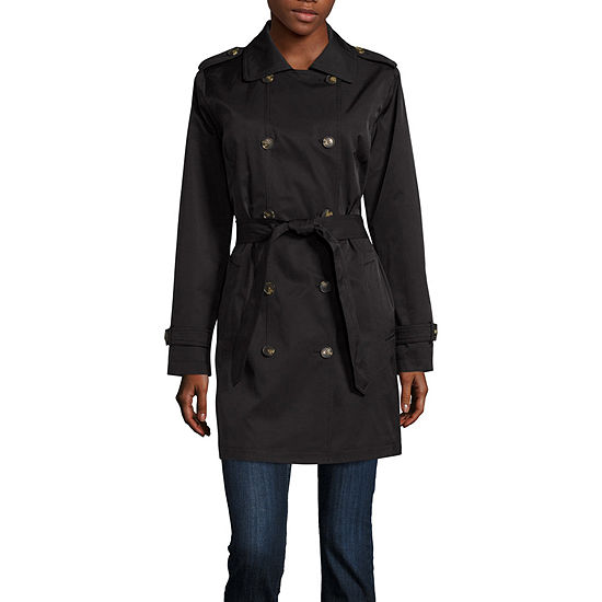 Fleetstreet Collection Belted Lightweight Trench Coat