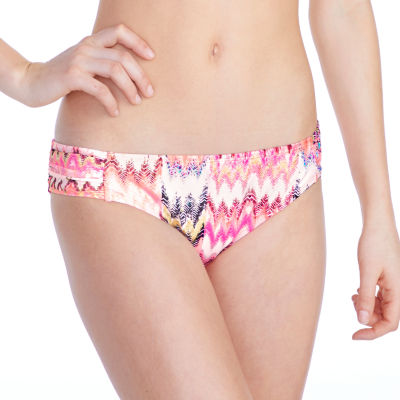 Arizona Pattern Hipster Swimsuit Bottom-Juniors