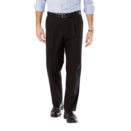 fcd82f907373f Dockers D4 Signature Relaxed Fit Pleated Khakis JCPenney