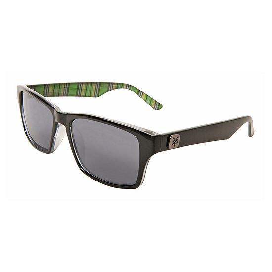 Zoo York Mens Rectangular Sunglasses