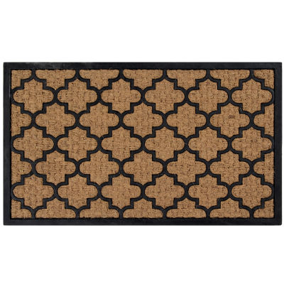 Better Trends Panama Coir Rectangular Doormat