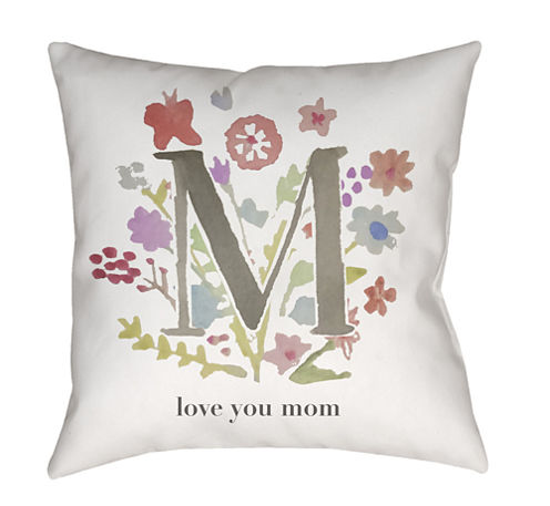 Decor 140 Mother Love Square Throw Pillow