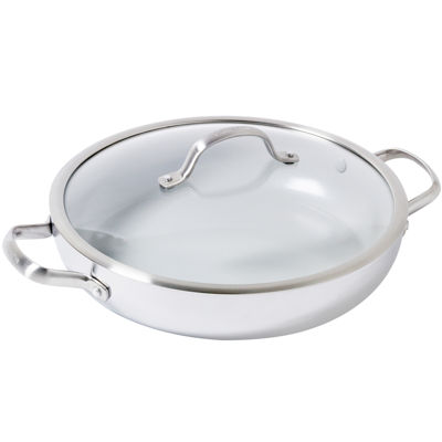 "GreenPan Venice Pro 12"" Stainless Steel Everyday Pan"