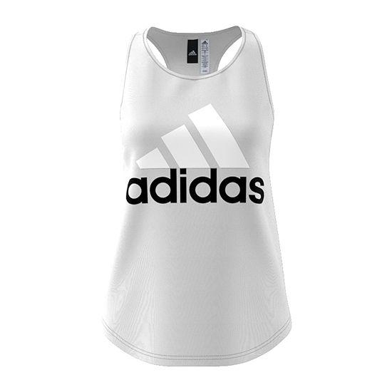 ea18bcf6960 adidas Sleeveless Scoop Neck T-Shirt-Womens - JCPenney