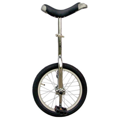 Fun Bike Chrome 16 Unicycle With Alloy Rim