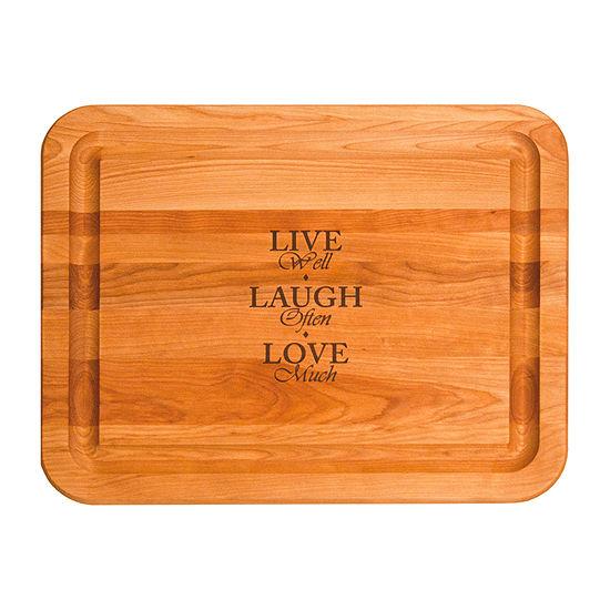 Live Laugh Love Board Cutting Board
