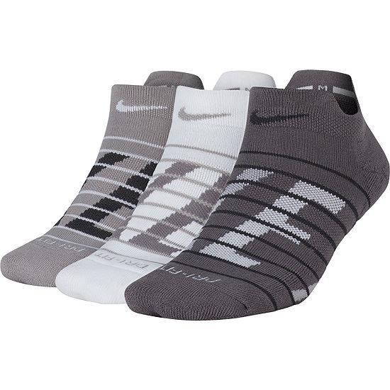 Nike 3 Pair Low Cut Socks Womens