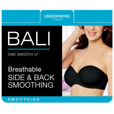 Bali One Smooth U® Multiway Underwire Strapless Bra-6562