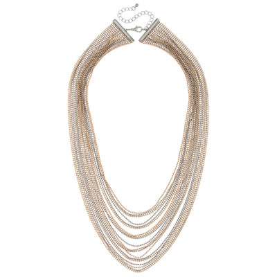 Decree Womens Statement Necklace