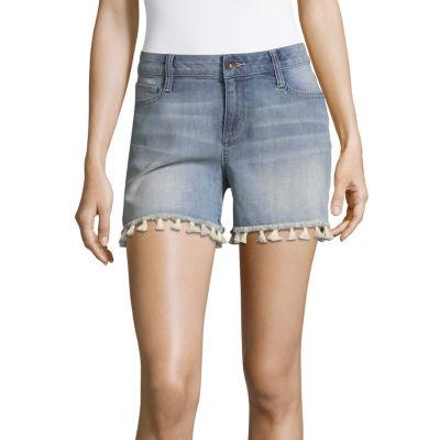 """a.n.a 3 1/2"""" Denim Shorts-Tall"""