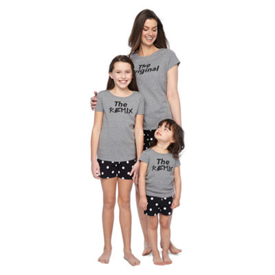 City Streets 2-pc. Shorts Pajama Set Girls