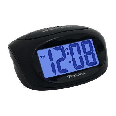 """Westclox 1"""" LCD Alarm Clock"""