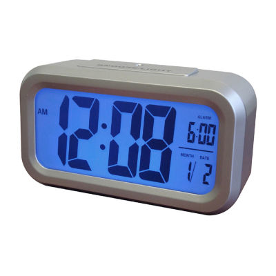 Westclox LCD Alarm Clock with Auto Back Light
