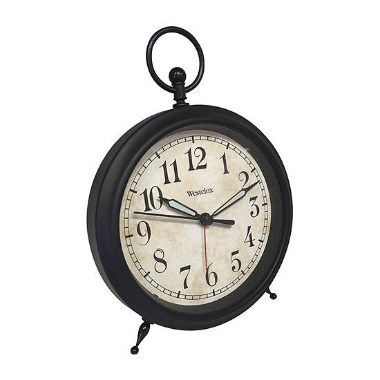 Westclox Classic Quartz Analog Alarm Clock