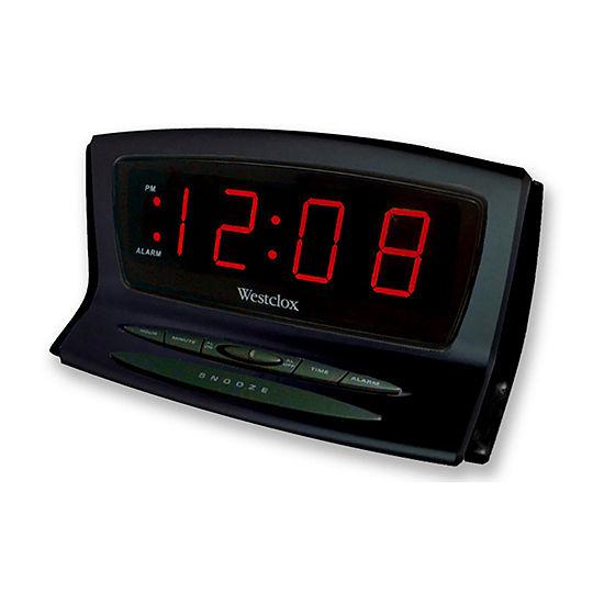 Westclox LED Alarm Clock