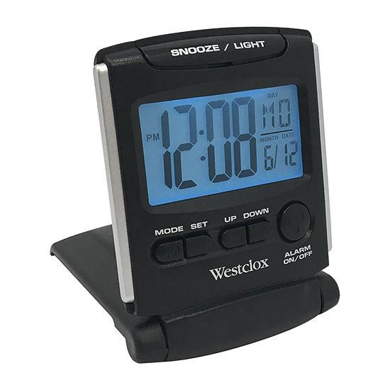 Westclox Fold Up Travel Alarm Clock