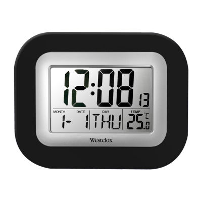 Westclox Digital Wall Clock
