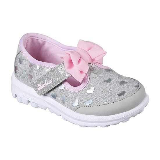 5587b06b72345 Skechers Go Walk Girls Sneakers - Toddler - JCPenney