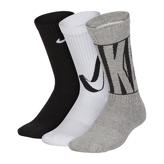Nike Performance Cushioned Graphic Crew 6 Pack Boys