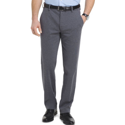 Van Heusen Flex 3x Knit Dress Pant Straight Fit Flat Front Pants
