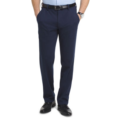 Van Heusen Flex 3x Knit Dress Pant Straight Fit Flat Front Pants