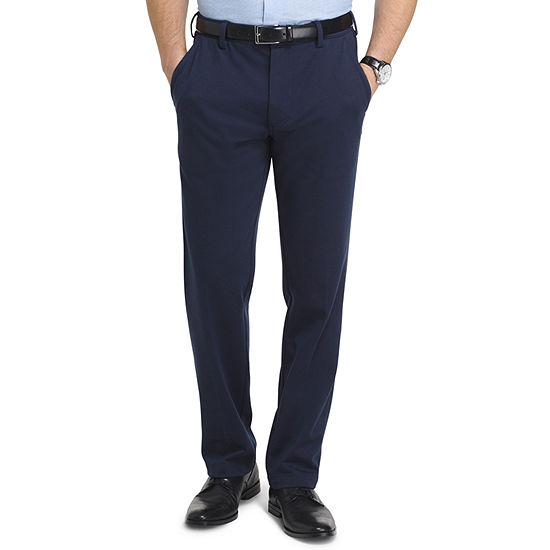 7af2be03 Van Heusen Flex 3x Knit Dress Pant Straight Fit Flat Front Pants