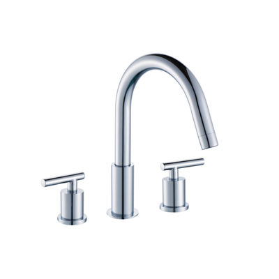 19.5-in. W Oval Undermount Sink Set In White - Chrome Hardware With 3H8-in. CUPC Faucet